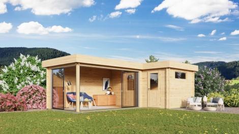 Multifunctional Modern Cabin ALU Concept N 44 | 8 x 5 m (26'3'' x 16'4'') 44 mm