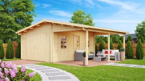 Garage and Carport 44 | 5.1 x 6.41 m (16'9'' x 21'') 44 mm