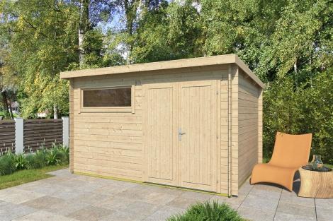Garden Storage Shed GENT 28 E   3.7x2.8m (12'1''x9'2'') 28 mm
